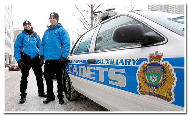 Winnipeg Police Auxiliary Cadets Cruiser